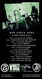 BAD APPLE SONS tour
