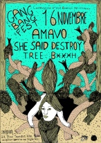 AMAVO + SHE SAID DESTROY